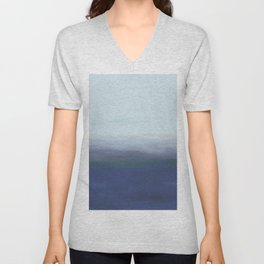 Abstract Landscape (Sky on Water) Unisex V-Neck