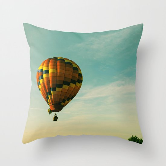 Touching The Tree Tops Throw Pillow