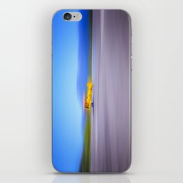 Just a Blur a classic two seater airplane iPhone Skin