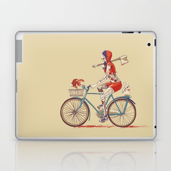 Death Ride Laptop & iPad Skin