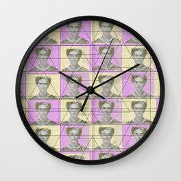 Frida wallpaper Wall Clock