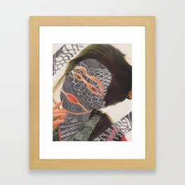 Knotty Thoughts Framed Art Print