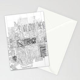 Enviroment lyrics handwriting Stationery Cards