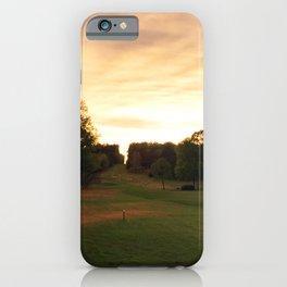 Down The Fairway iPhone Case