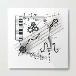 Musical Masterpiece Metal Print