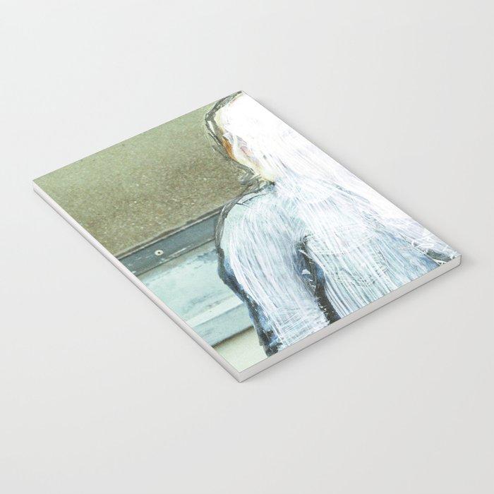 Sie hat die Nase gestrichen voll · Lost woman Notebook