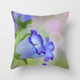 Dream of A Purple Bell Throw Pillow