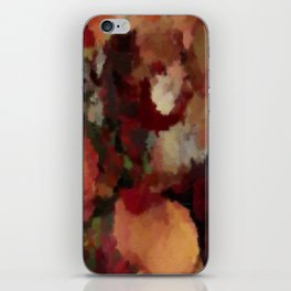 Autumn Mosaics Watercolor 2484 iPhone Skin