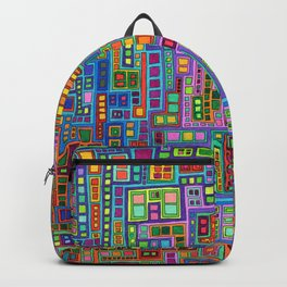 Tiled City Backpack