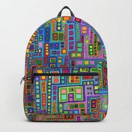 Tiled City Backpack