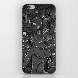 WOLVES OF PERIGORD iPhone Skin