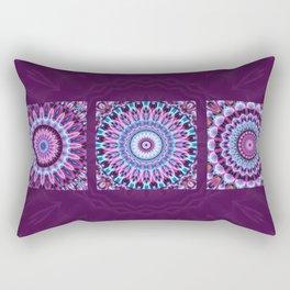 Mandala Collage violett Rectangular Pillow