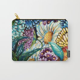 Flowers and Wild Nature Carry-All Pouch