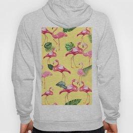 Flamingos Love Pattern 10 Hoody