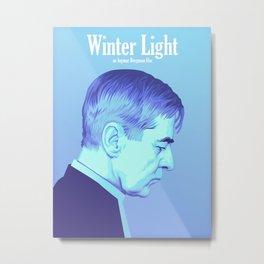 Ingmar Bergman's 'Winter Light' Metal Print