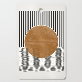 Abstract Modern Poster Cutting Board