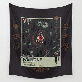 Cosmic Black Wall Tapestry
