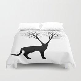 Cat Tree Duvet Cover