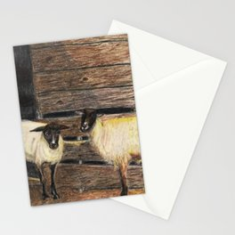 Curly and Moe Stationery Cards