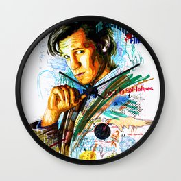 Eleventh Doctor Wall Clock