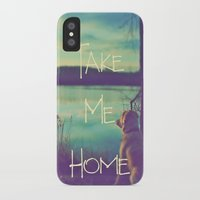 home sweet home iPhone & iPod Cases featuring HOME by Monika Strigel