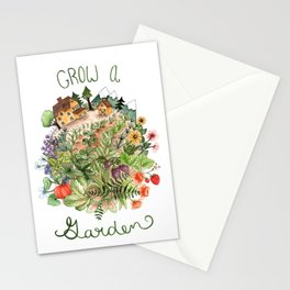 Grow A Garden Stationery Cards
