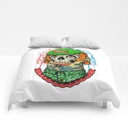 skull boy Comforters