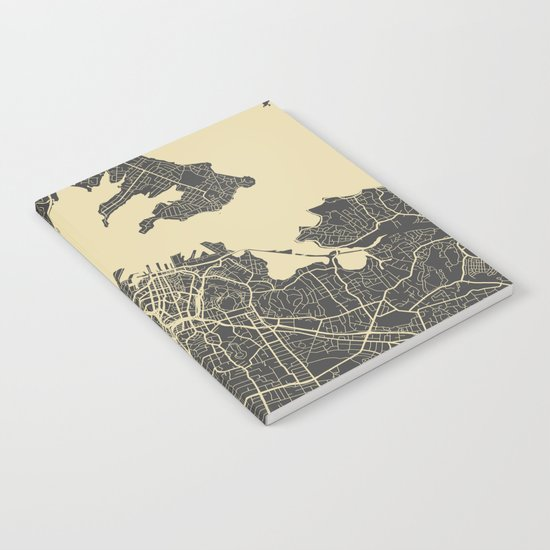 Auckland Map Notebook