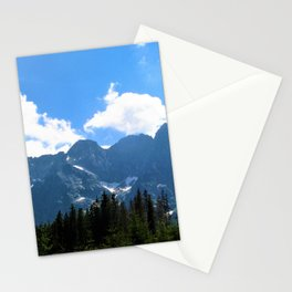 tatry  mountains Stationery Cards