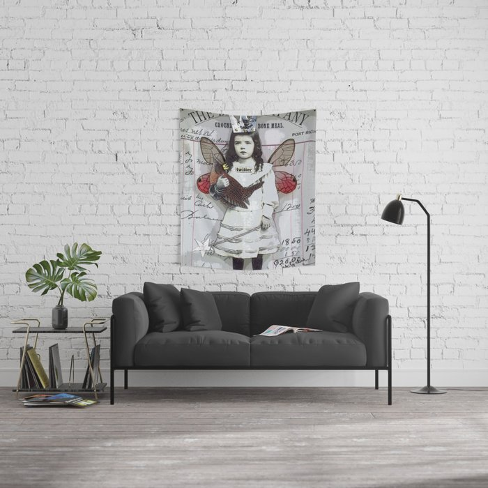 Twitter Wall Tapestry