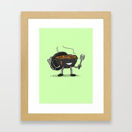GrillBot Framed Art Print