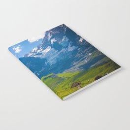 Alpine Scenery Notebook