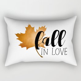 Fall In Love Rectangular Pillow
