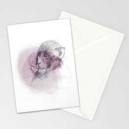 LUNG MONKEY Stationery Cards