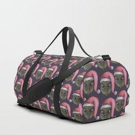 alien xmas Duffle Bag
