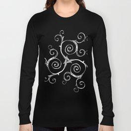 Magic Mandala Twisted Triskele Long Sleeve T-shirt