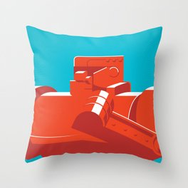 Red Rocker Throw Pillow