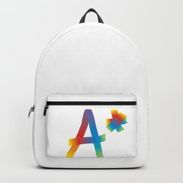 A* rainbow Backpack