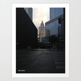 State and Kinzie Art Print