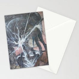Lady Wild Vibrant  Stationery Cards