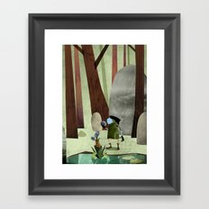 The Potion Maker Framed Art Print