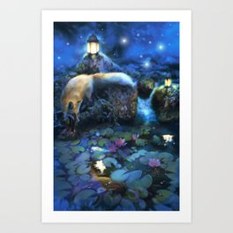 The Fable Keepers Art Print