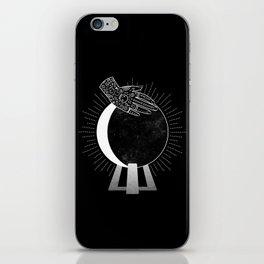 Waning Crescent iPhone Skin