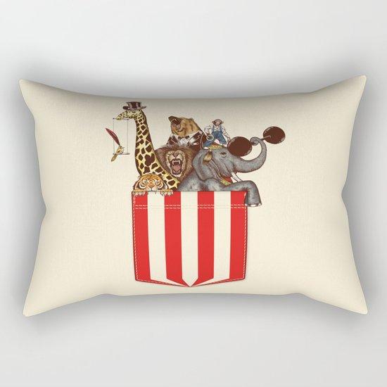 Pocket Circus Rectangular Pillow