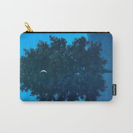 Rene Magritte - Le Seize Septembre - 1956 Moon Through Tree Surrealism Carry-All Pouch