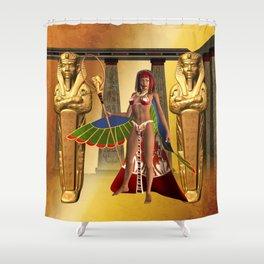 Wonderful egyptian women Shower Curtain
