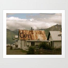 Hope, Alaska Art Print
