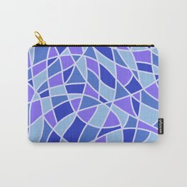 Curved Mosaic 05 Carry-All Pouch