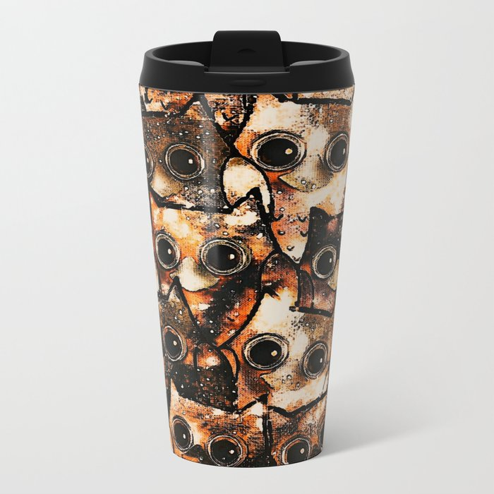 owl-14 Metal Travel Mug