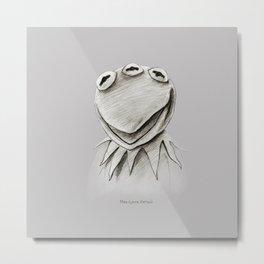 Monsanto Kermit Metal Print
